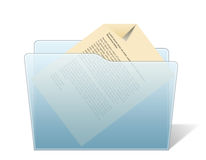 Document Folder Royalty Free Stock Photo