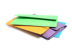 Document Folders Stock Photo