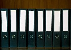 Document Folders Stock Photos