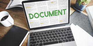 Document Forms Administrative Letters Notes Concept Royalty Free Stock Photo