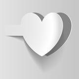 Document hart Royalty-vrije Stock Afbeelding