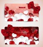Document harten en namen bloemblaadjes toe Royalty-vrije Stock Afbeeldingen