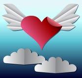 Document heart1 Stock Illustratie