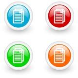 Document icon Stock Images