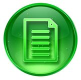 Document icon. Royalty Free Stock Images