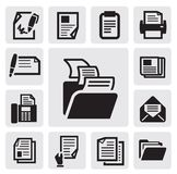 Document icon Royalty Free Stock Photos