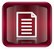Document icon Royalty Free Stock Images