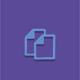 Document Icon Vector Illustration stock photo