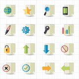 Document icons. This image is a  illustration Royalty Free Stock Photo