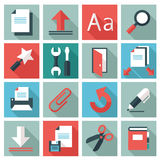 Document icons Royalty Free Stock Photo