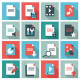 Document icons Royalty Free Stock Images