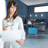 Document inspection at the office Stock Photography