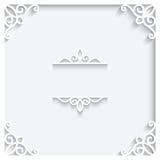 Document kader Royalty-vrije Stock Foto