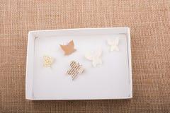 Document knipsel om divers type te maken butterflyes Stock Afbeelding