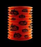 Document lantaarn van Halloween-pompoen stock afbeelding