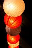 Document lantaarns bij het festival Stock Foto