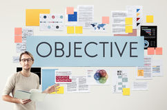 Document Marketing Strategy Business Concept. Document Marketing Strategy Business Objective Stock Images