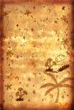 Document met Krabbels Stock Afbeelding
