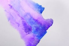 Document met lilac abstract beeld Royalty-vrije Stock Afbeelding