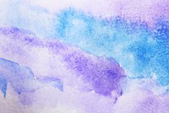 Document met lilac abstract beeld Royalty-vrije Stock Foto's