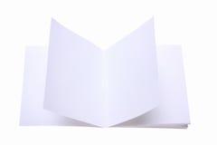 Document met schoon blad Royalty-vrije Stock Foto