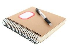 Document notitieboekje Royalty-vrije Stock Afbeelding