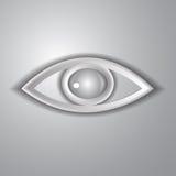 Document oog Royalty-vrije Stock Afbeelding