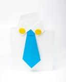 Document origami Royalty-vrije Stock Afbeelding