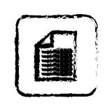 Document paper report. Icon vector illustration graphic design Stock Photography