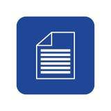 Document paper report. Icon vector illustration graphic design Stock Photos