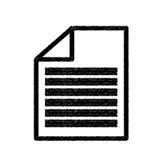 Document paper report. Icon vector illustration graphic design Stock Image