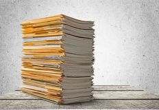 Document Paperwork Stock Images