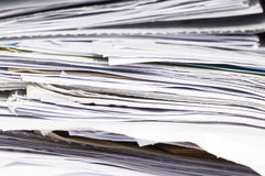 Document Pile Royalty Free Stock Photo