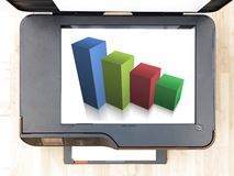 Document Printer Royalty Free Stock Photo