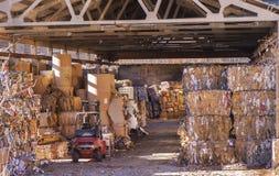 Document recycling Royalty-vrije Stock Afbeeldingen