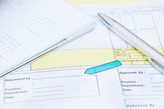 Document Requested for signing Royalty Free Stock Images