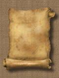 Document rol op textuur Royalty-vrije Stock Afbeelding