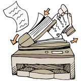 Document Scanner Stock Photos