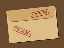 Document secret illustration stock