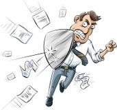 Document Shield Stock Image