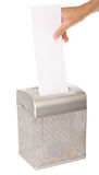 Document Shredder Royalty Free Stock Image