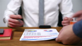 Document Signing stock video footage