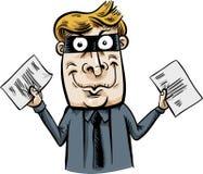 Document Thief Stock Photos