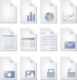 Document types Stock Photos
