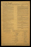 Document of U.S. Constitution Stock Image