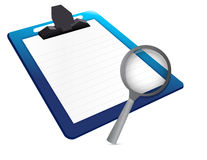 Document under review concept Royalty Free Stock Image