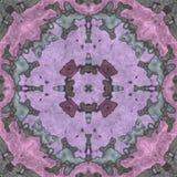Document van het meetkunde het naadloze ornate- servet vector illustratie