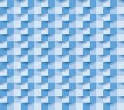 Document vierkant blauw 11 Stock Afbeelding