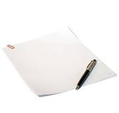 Document voor verslagen Royalty-vrije Stock Fotografie