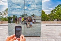 ` Documenta `在卡塞尔发生每五年并且持续三个月 库存照片